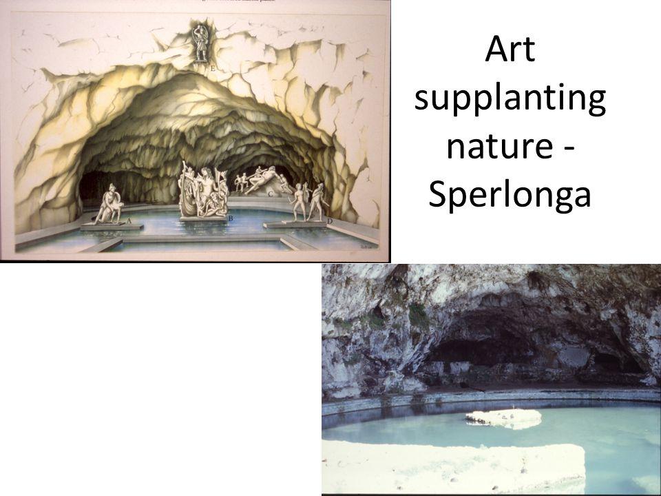 Art supplanting nature - Sperlonga