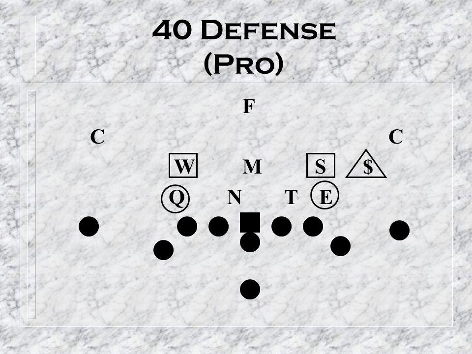 40 Defense (Pro) F C C W M S $ Q N T E