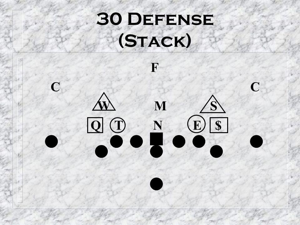 30 Defense (Stack) F C C W M S Q T N E $