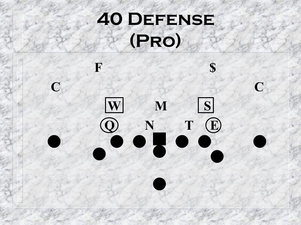 40 Defense (Pro) F $ C C W M S Q N T E