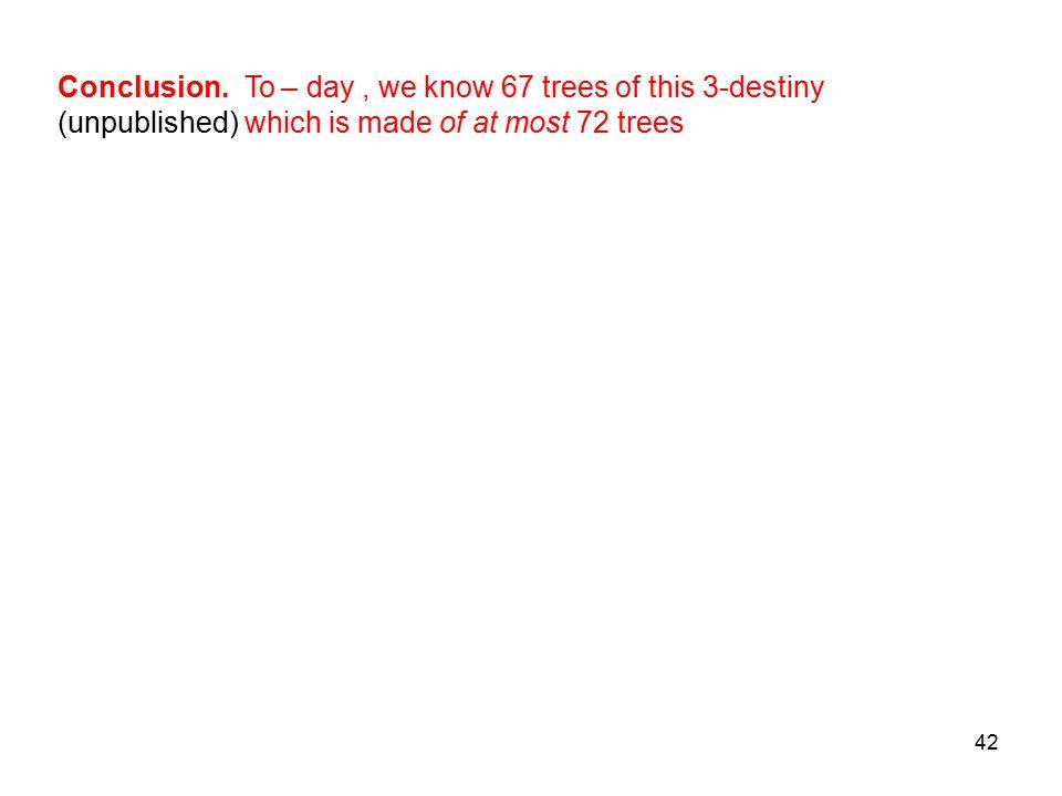 42 Conclusion.
