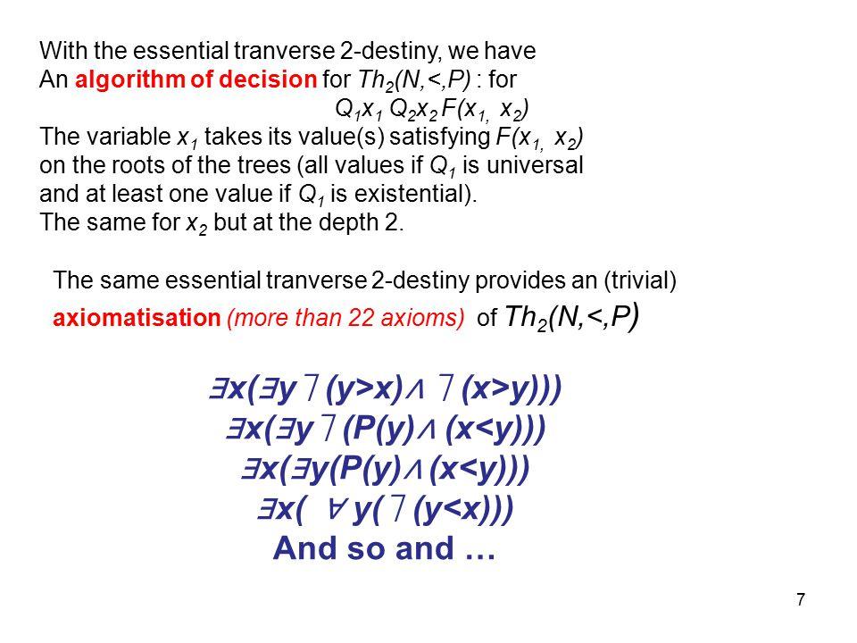 8 0.2.Some definitions about p-destinies Def. 0.2.1 (destiny).
