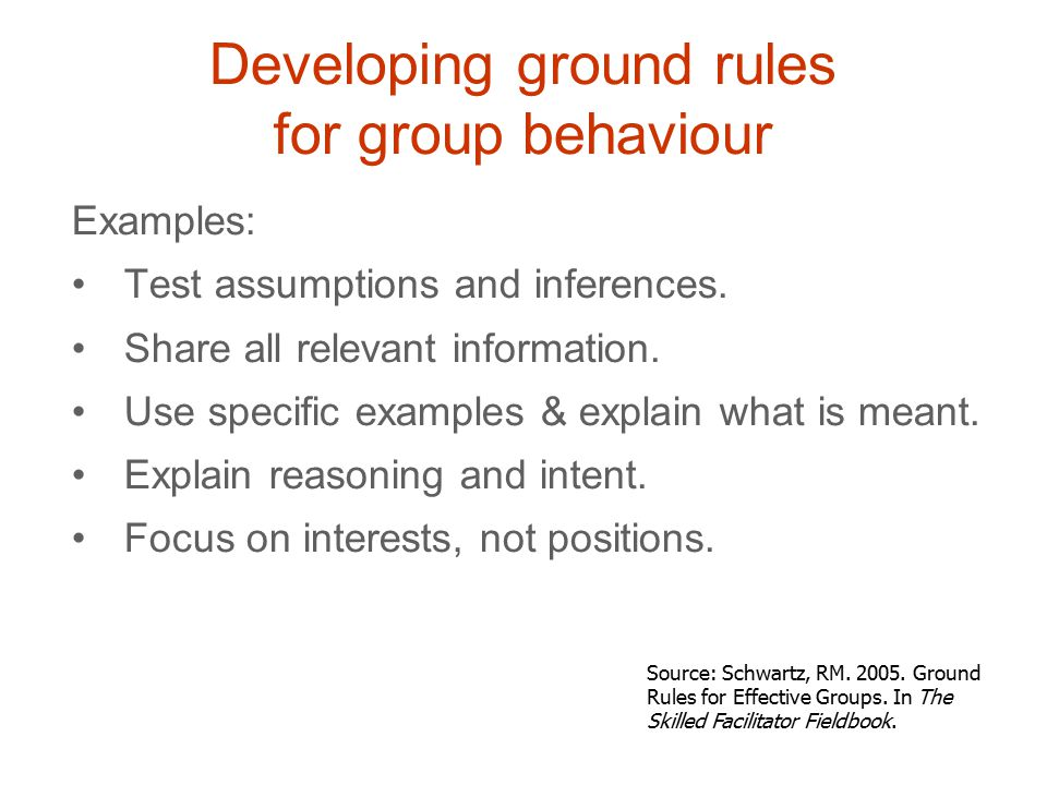 Examples: Test assumptions and inferences. Share all relevant information.