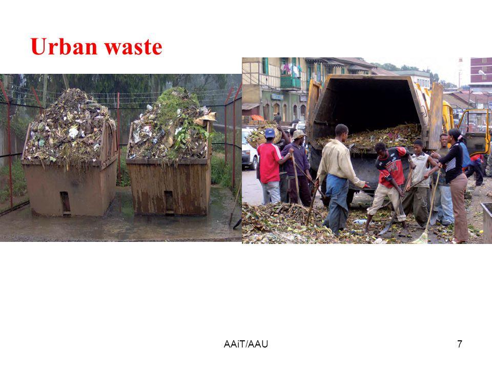 Urban waste 7AAiT/AAU