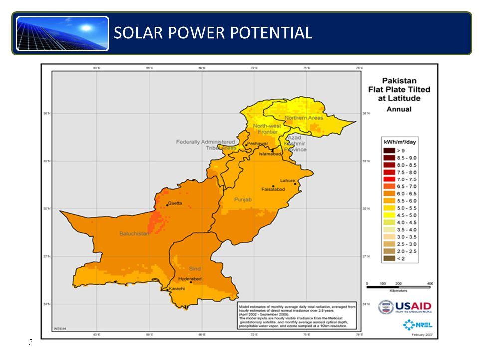 35 SOLAR POWER POTENTIAL
