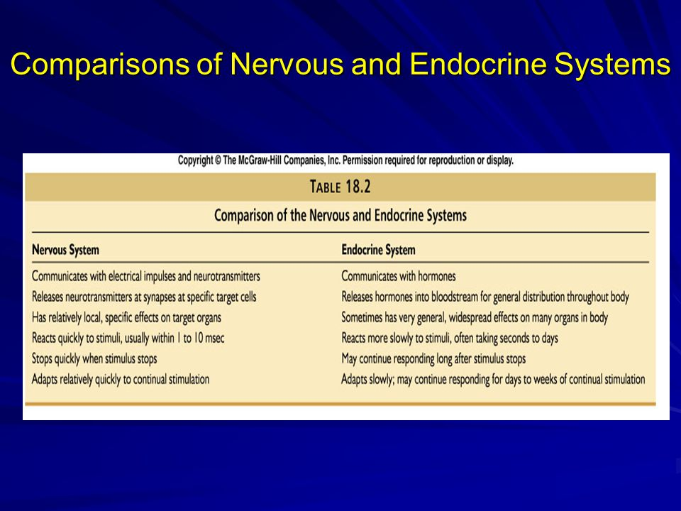 Types of Endocrine Glands Three types of glands: 1.