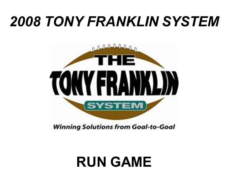 2008 TONY FRANKLIN SYSTEM RUN GAME