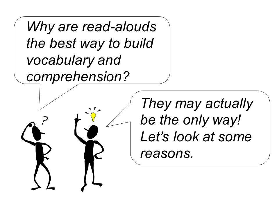 Now let's look at comprehension.