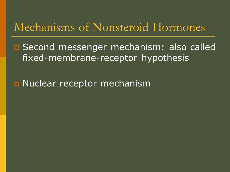 Tropic hormones  Have stimulating effect on other endocrine glands  Thyroid stimulating hormone: TSH  Adrenocorticotropic hormone: ACTH  Follicle stimulating hormone: FSH  Luteinizing hormone: LH