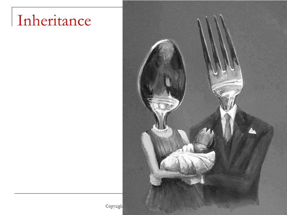Inheritance Copyright 2009, John Wiley & Sons, Inc.