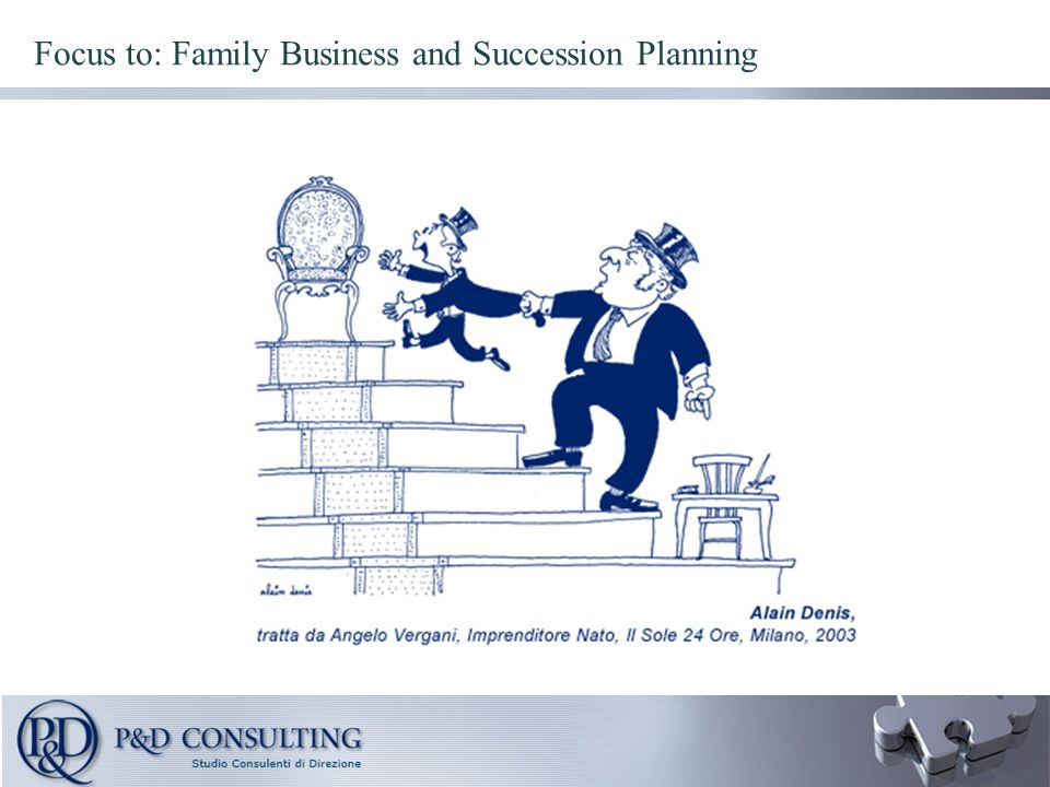 Focus to: Family Business and Succession Planning