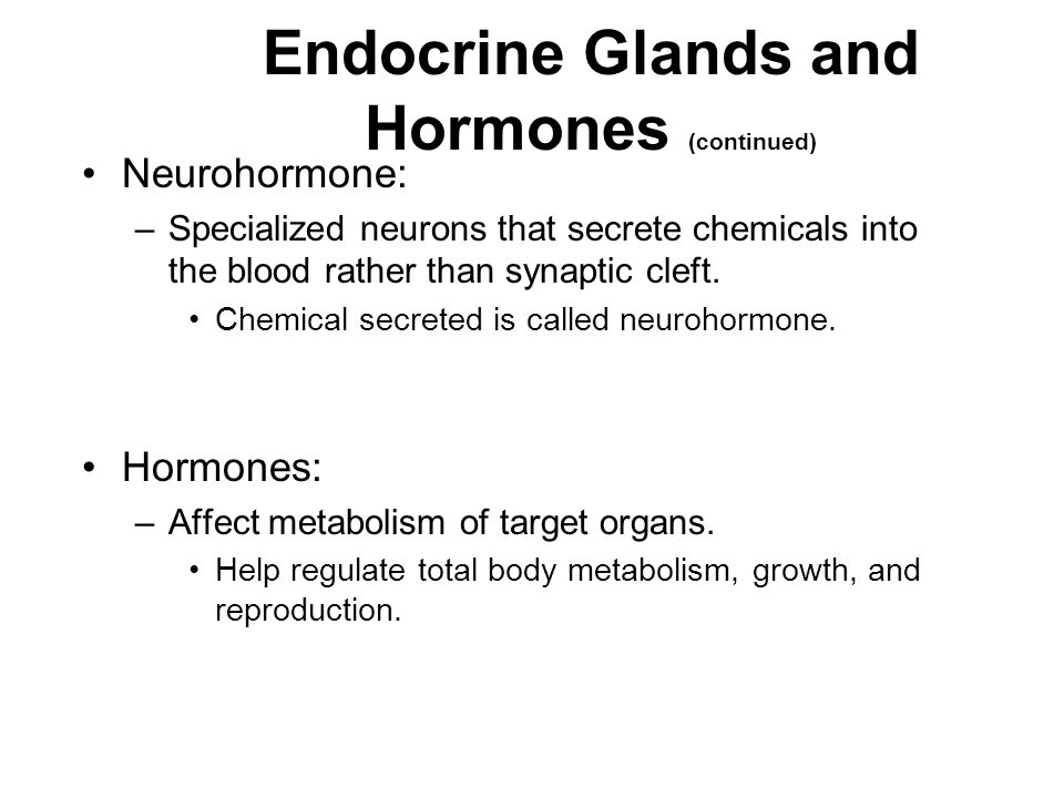 Effects of [Hormone] on Tissue Response [Hormone] in blood reflects the rate of secretion.