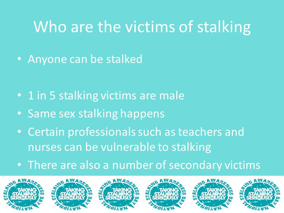 The Law and stalking England and Wales Scotland Northern Ireland Possible Civil routes A Home Office consultation reviewing stalking and its legislation recently closed (5 th Feb).