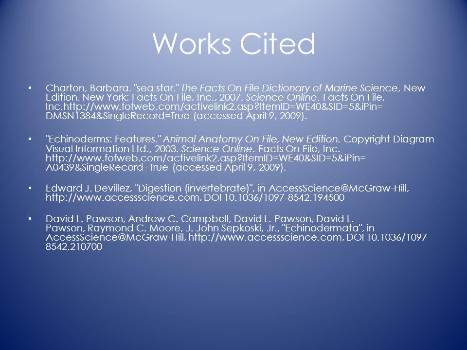 Works Cited Charton, Barbara.
