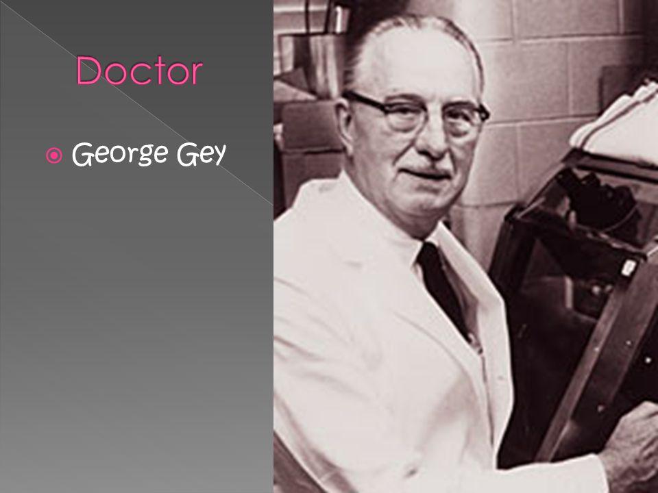 George Gey