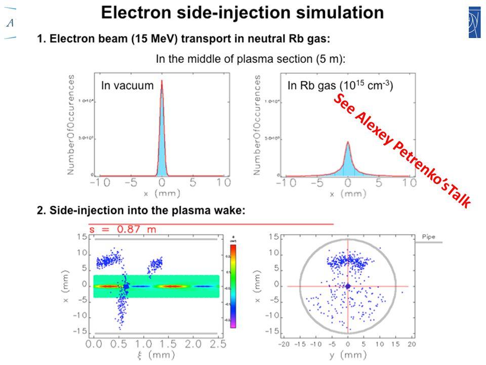 Edda Gschwendtner, CERN18 See Alexey Petrenko'sTalk
