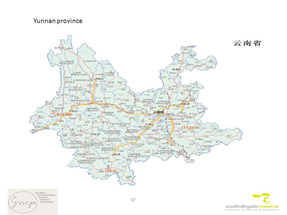 17 Yunnan province
