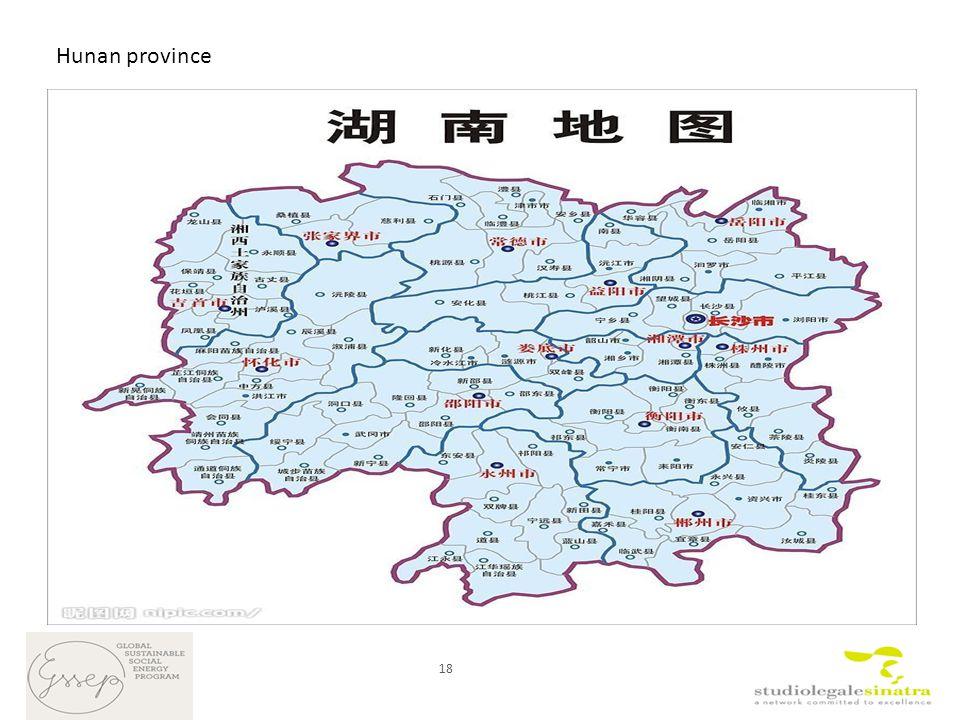 18 Hunan province