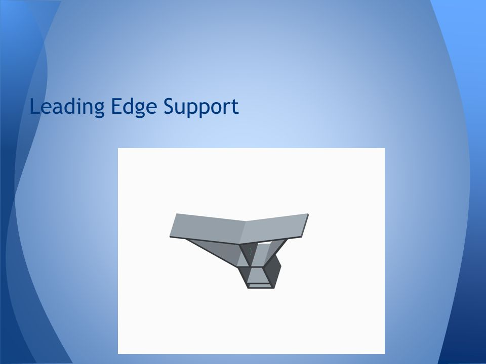 Leading Edge Support