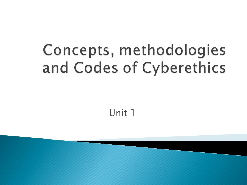  Gotterbarn's model for computer ethics seems too narrow for cyberethics.