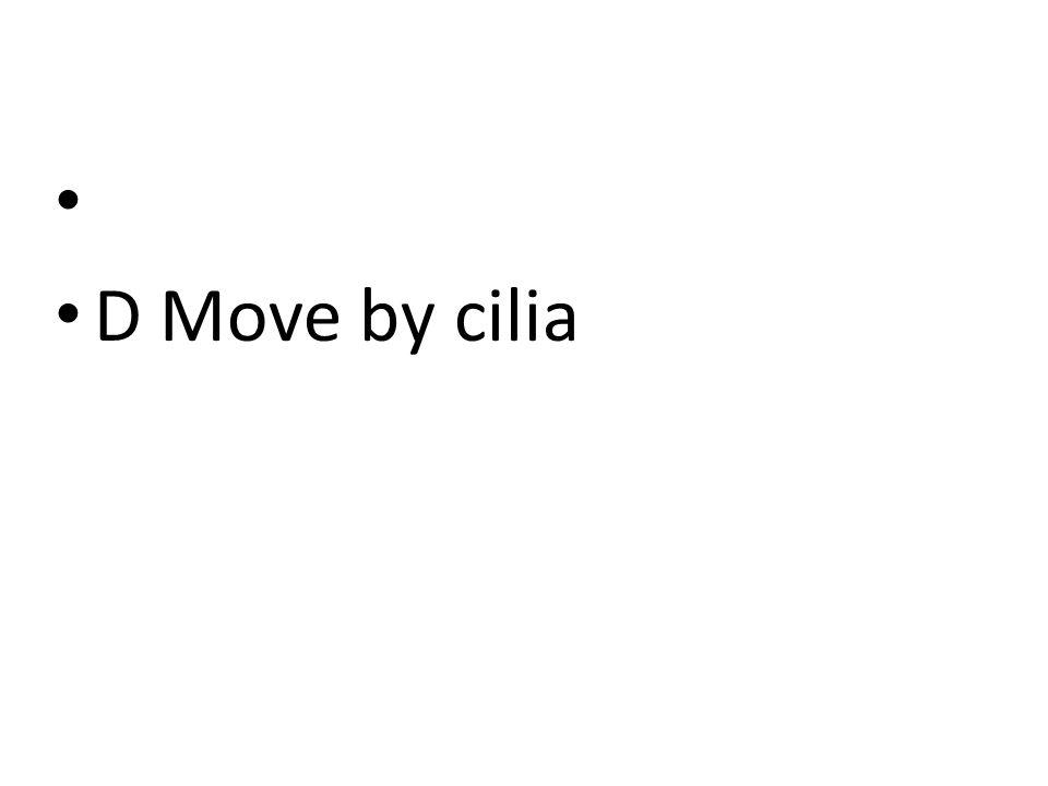 DMove by cilia