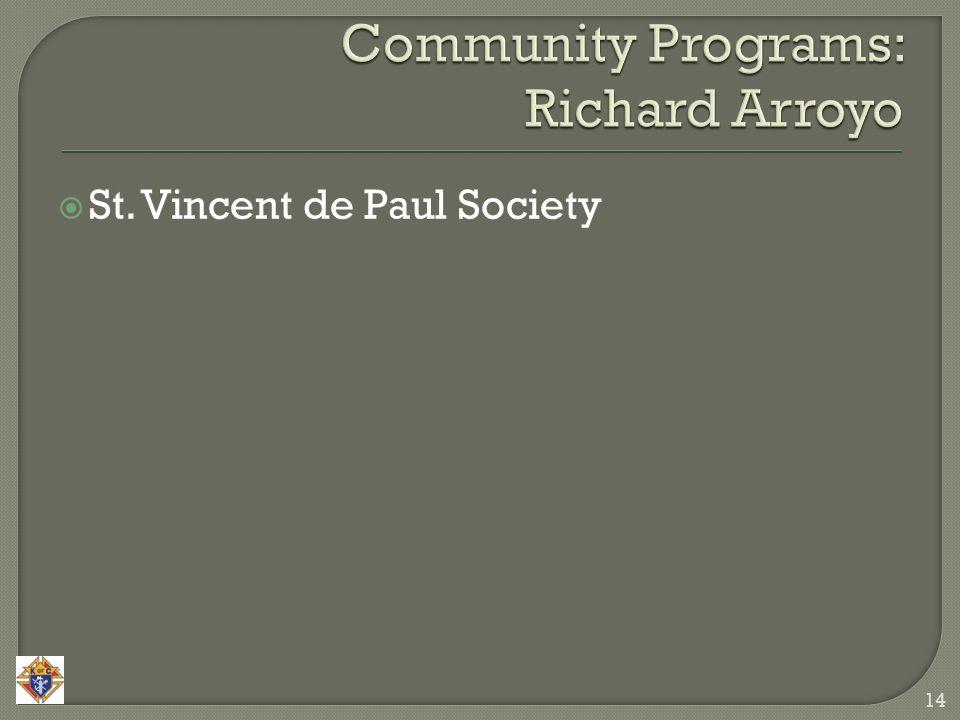  St. Vincent de Paul Society 14