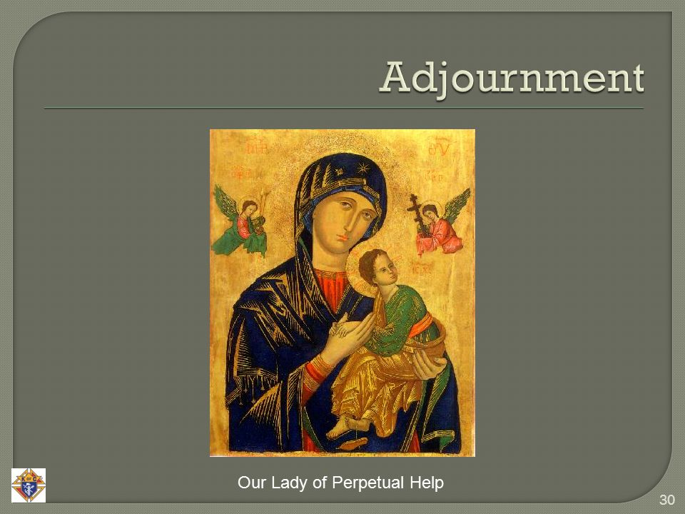 30 Our Lady of Perpetual Help