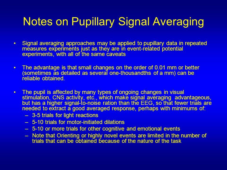 Phasic Data (data of D.Friedman et al., EEG Cl.