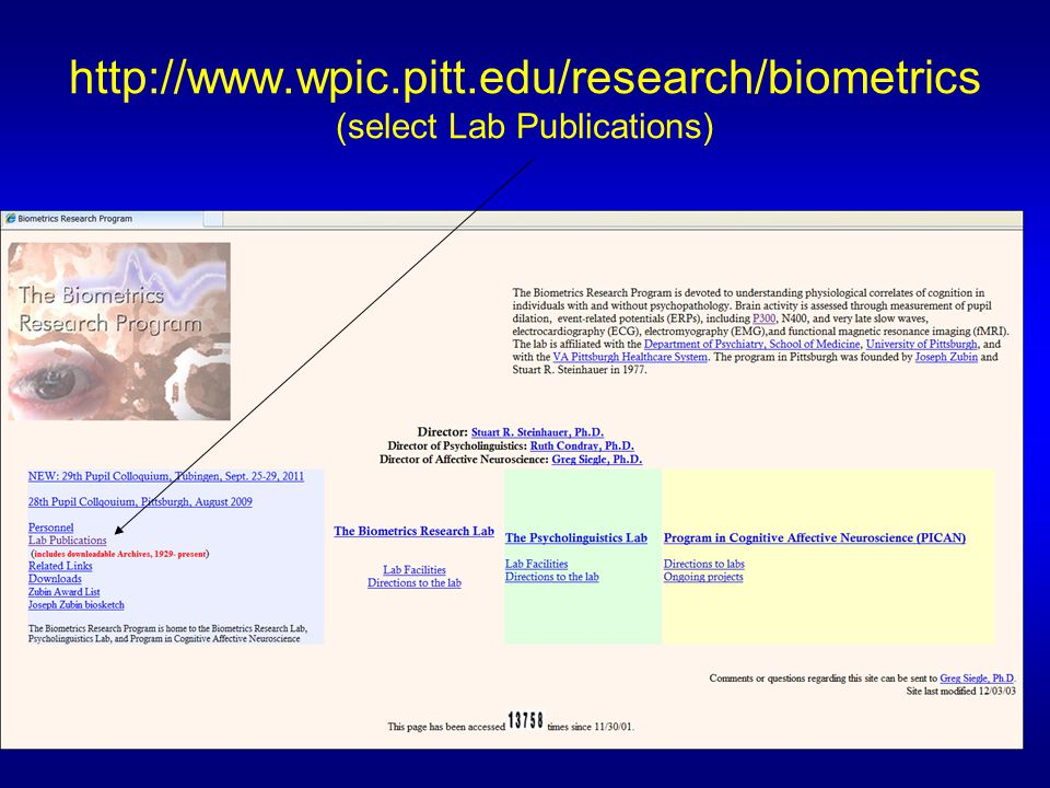 http://www.wpic.pitt.edu/research/biometrics (select Lab Publications)
