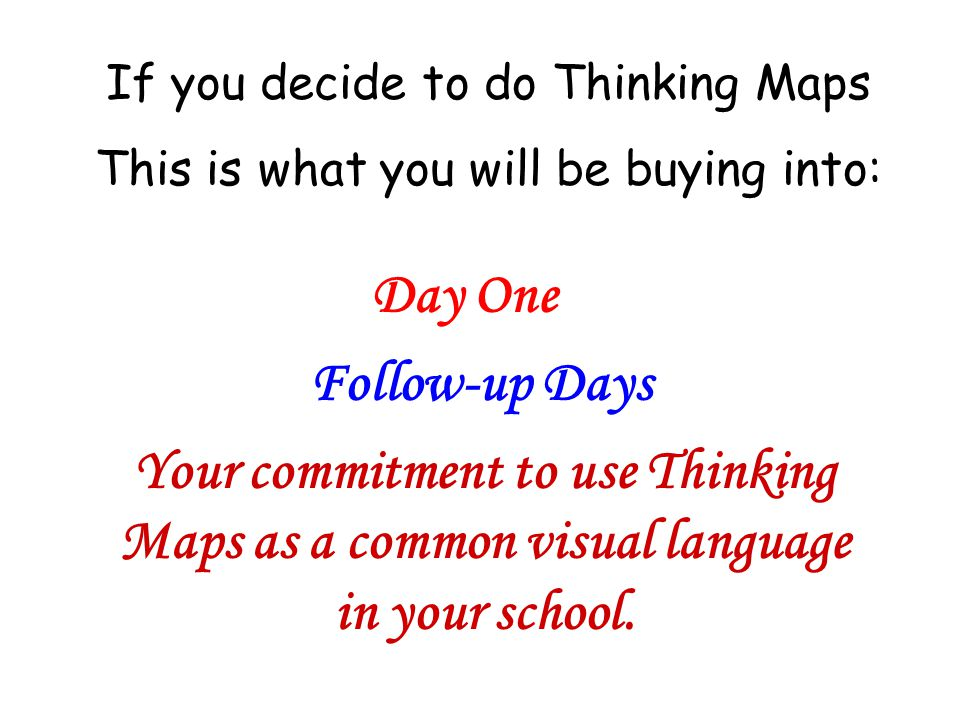 Now that you have seen examples of Thinking Maps… Do you think Thinking Maps can be used for teaching, learning & assessing