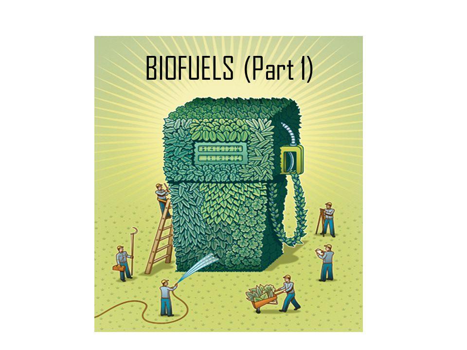 BIOFUELS (Part 1)