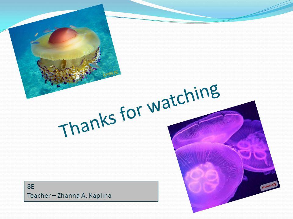 Thanks for watching 8E Teacher – Zhanna A. Kaplina