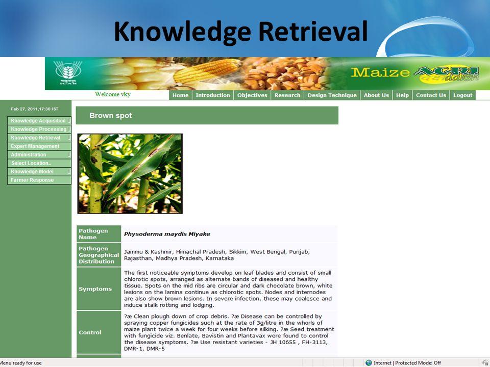 Knowledge Retrieval