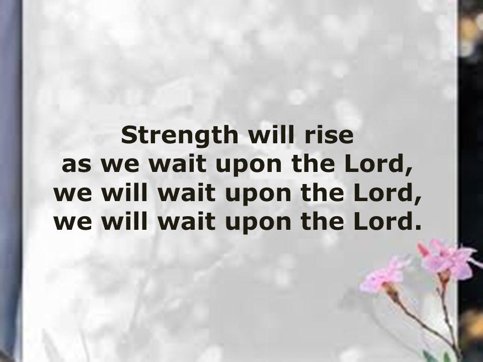 God's love so sure shall still endure.