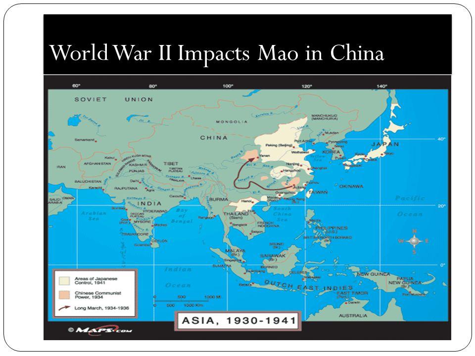 World War II Impacts Mao in China