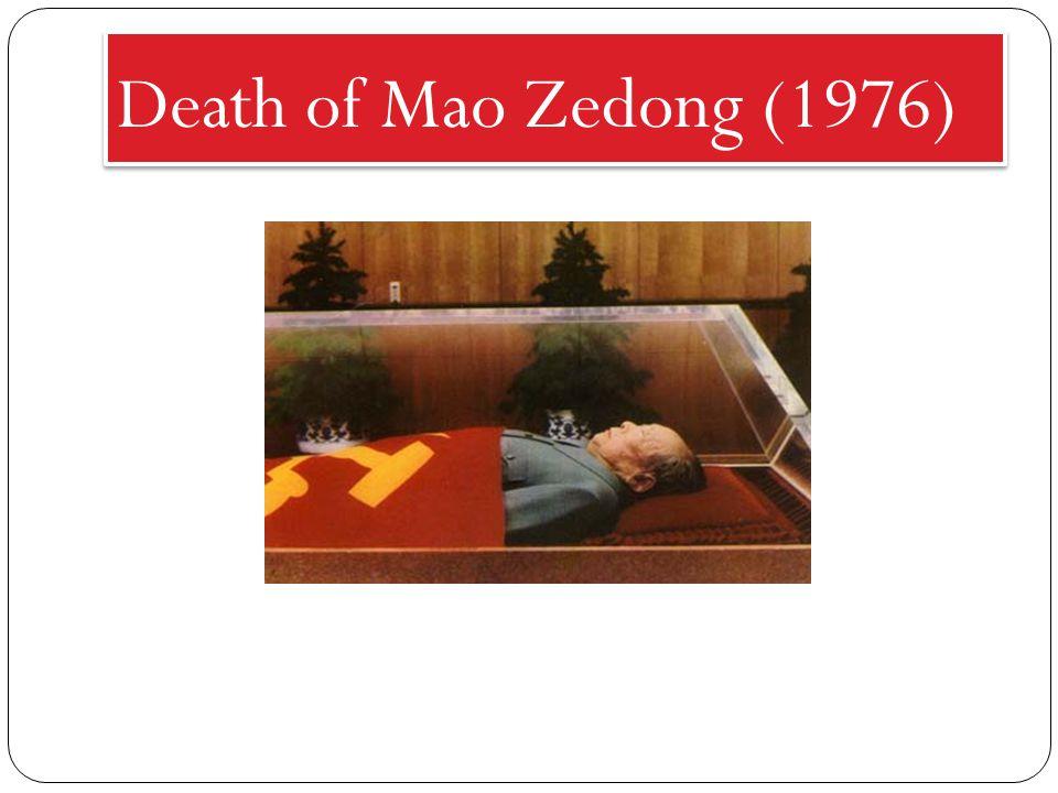 Death of Mao Zedong (1976)