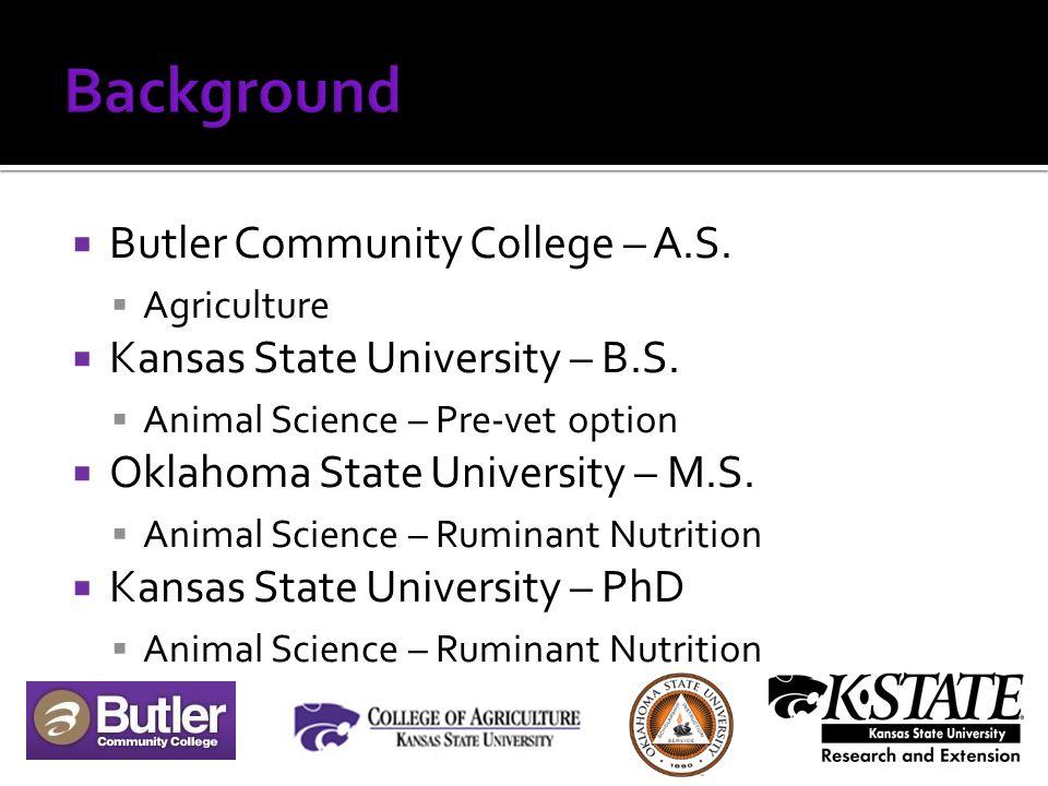  Southeast Area Research Center  Parsons, KS  (620) 421-4826 ext. 17  jkj@ksu.edu