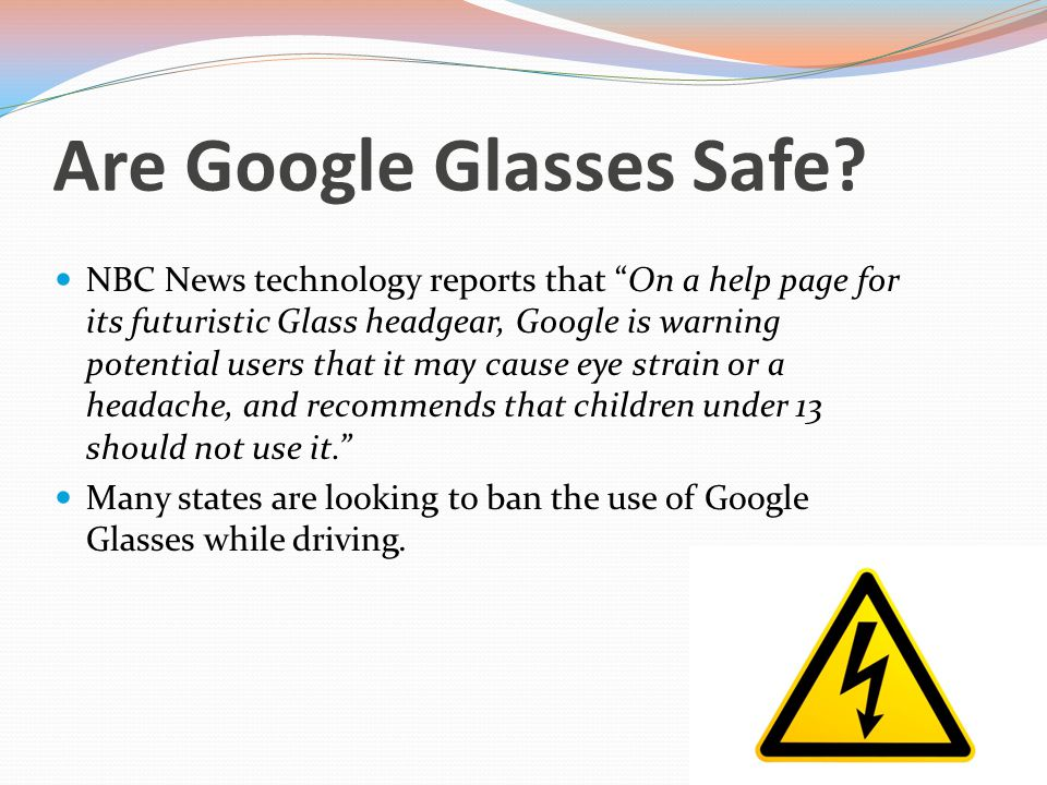 Who Are Google Glasses For.