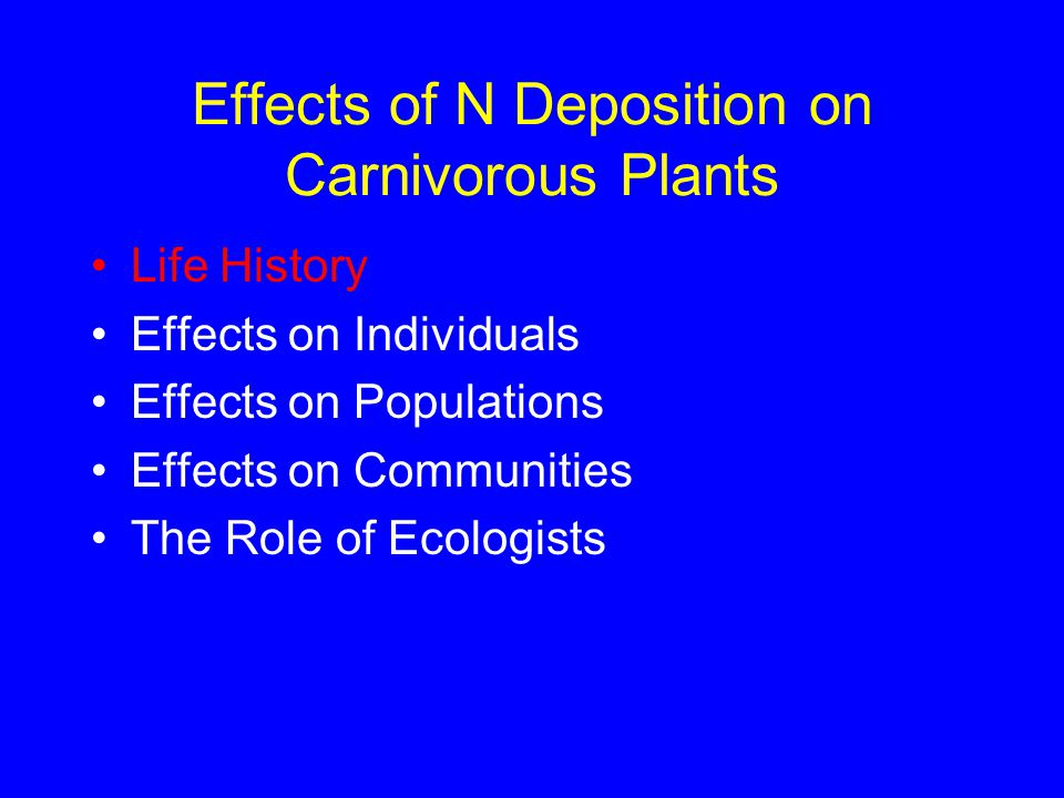 Reasons for Studying Ecology Natural History Field Studies & Experiments