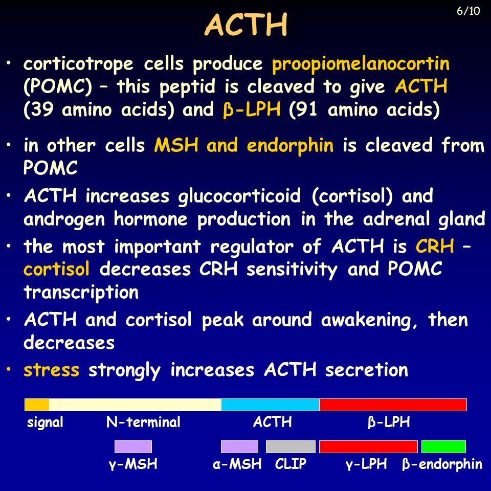 Glycoprotein hormones I.