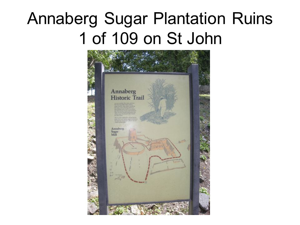 Annaberg Sugar Plantation Ruins 1 of 109 on St John