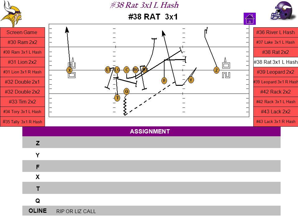 #38 Rat 3x1 L Hash ASSIGNMENT Z Y F X T Q OLINE RIP OR LIZ CALL Screen Game #30 Ram 2x2 #30 Ram 3x1 L Hash #31 Lion 2x2 #31 Lion 3x1 R Hash #32 Double