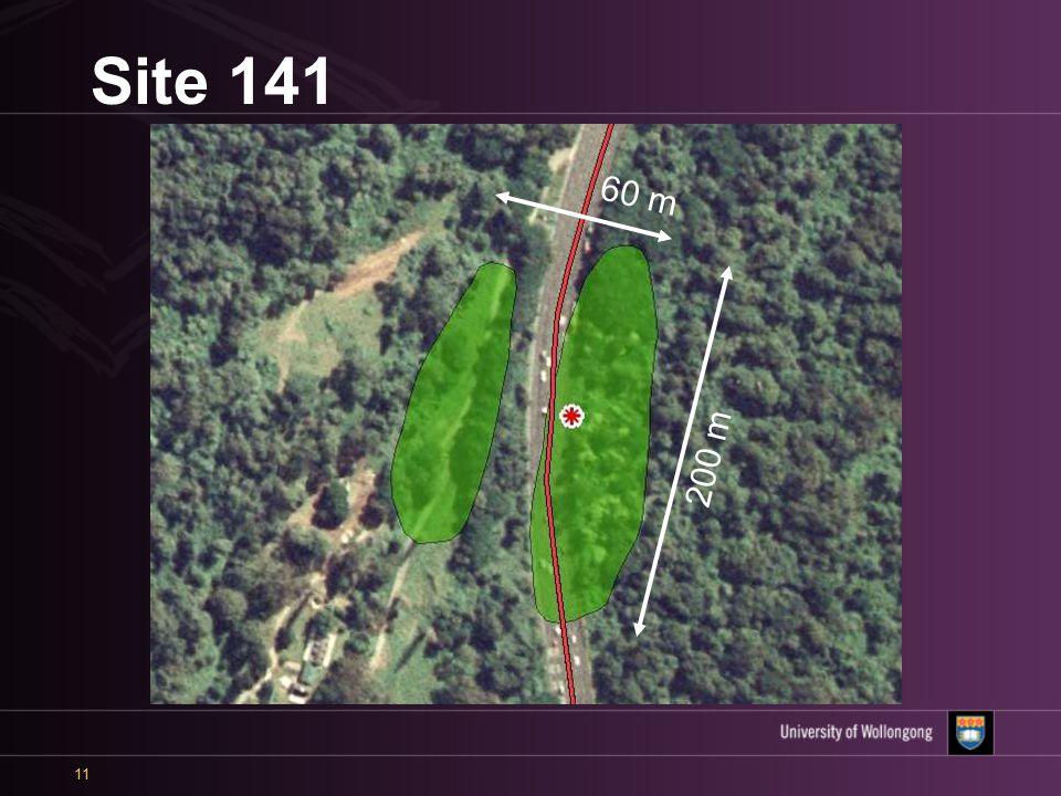 11 Site 141 60 m 200 m