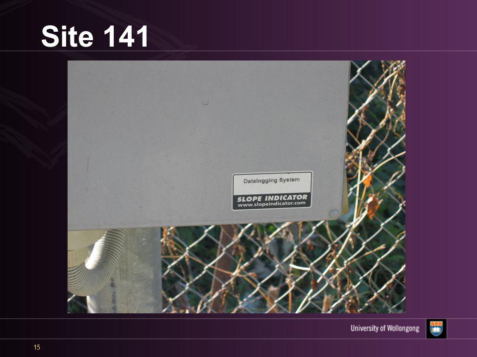 15 Site 141
