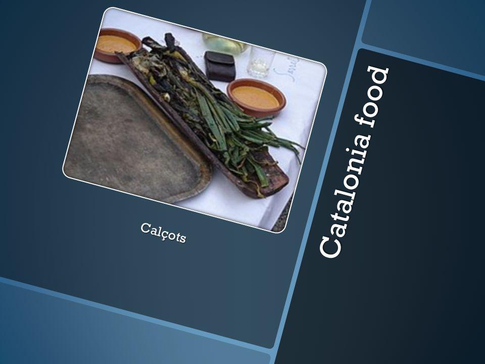 Catalonia food Calçots