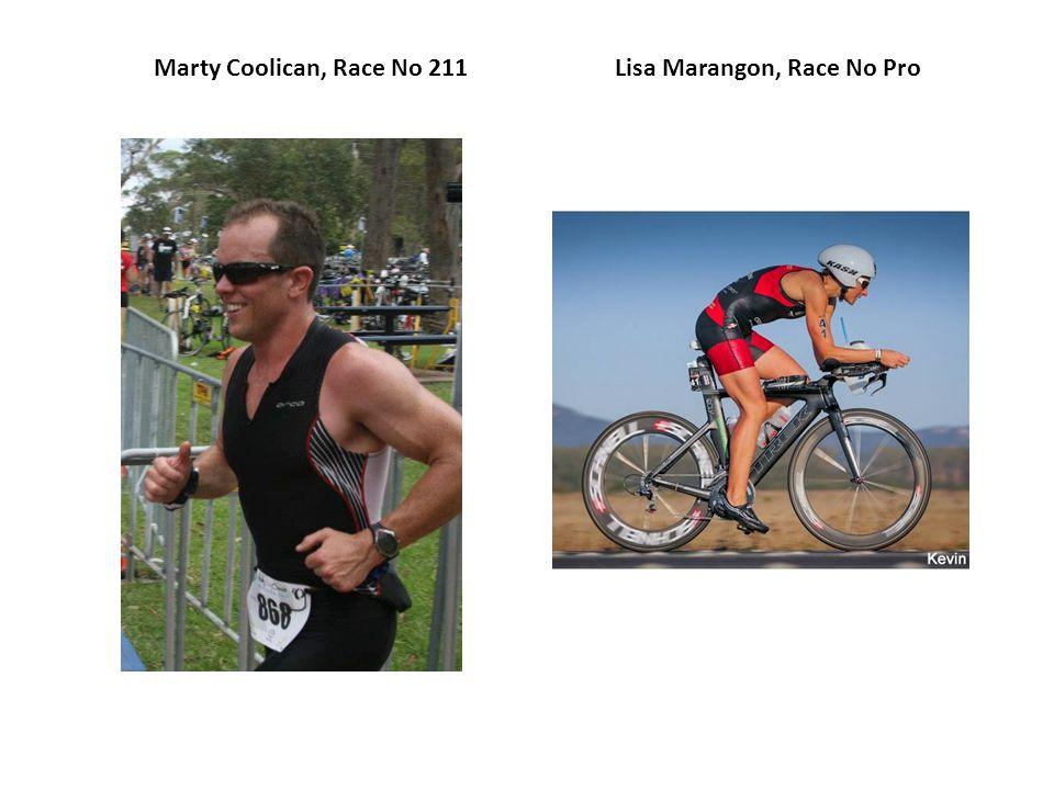 Marty Coolican, Race No 211Lisa Marangon, Race No Pro