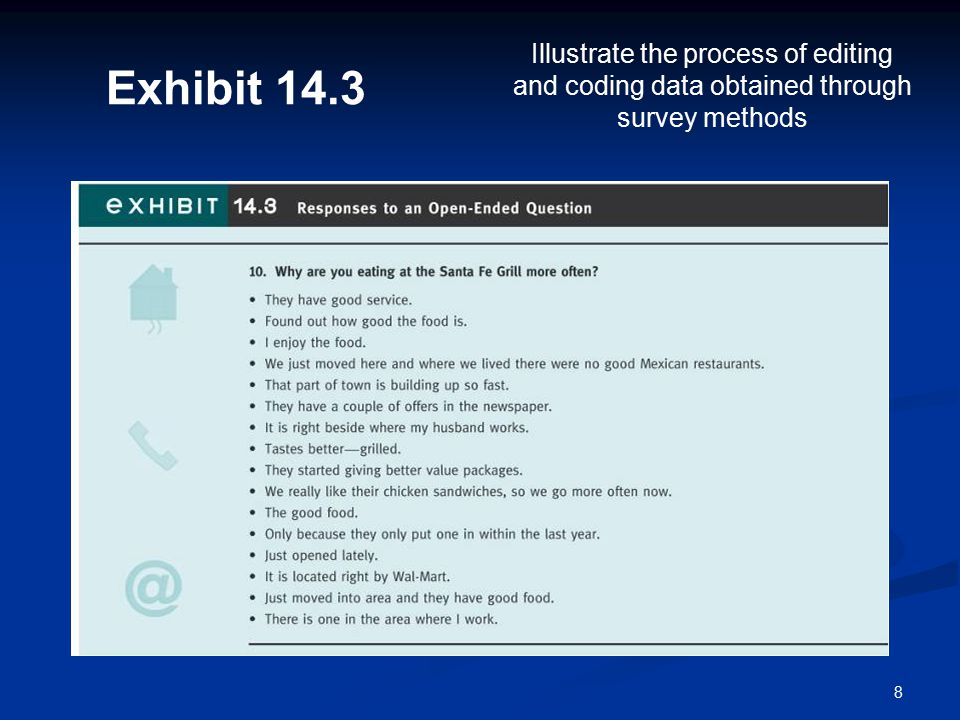 19 One-way Tabulations One-way Tabulations 1.To determine the degree of non-response to individual questions 2.
