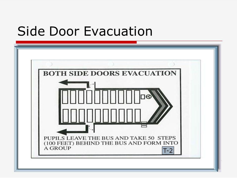 Side Door Evacuation T-2