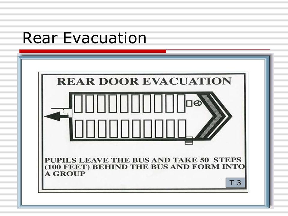 Rear Evacuation T-3