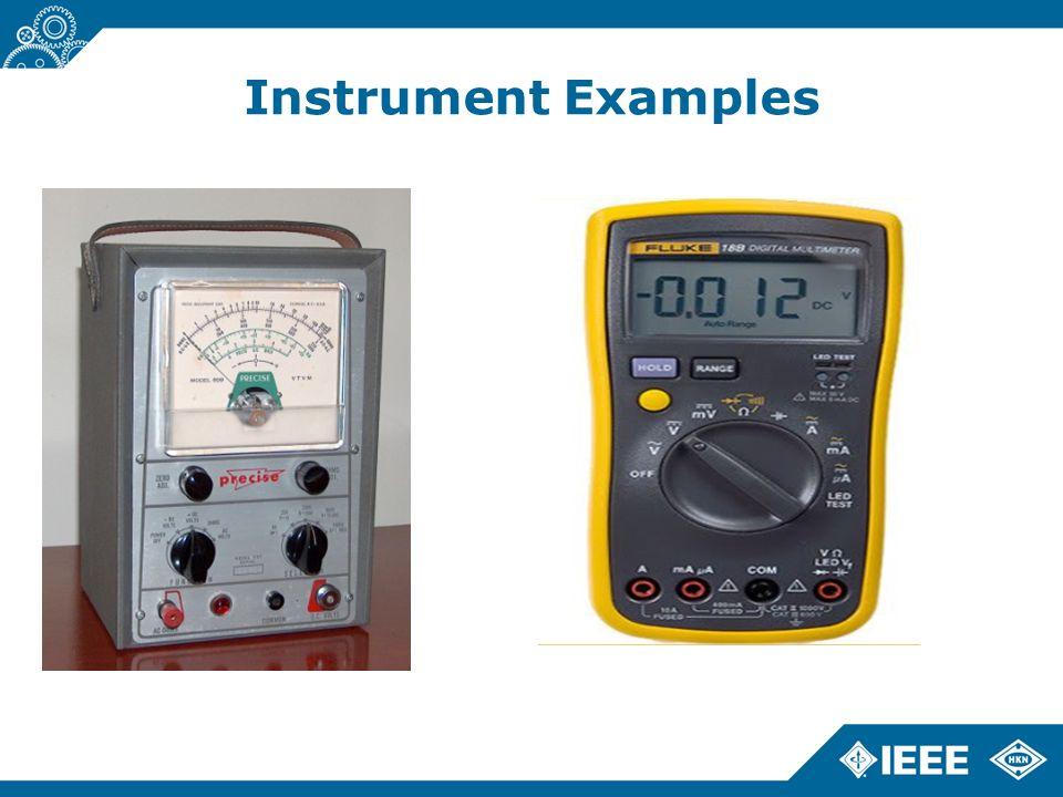 Instrument Examples